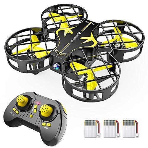 SNAPTAIN H823H Mini Drone per Bambini, Funzione Lancia&Vola, Funzione Hovering, modalit Senza Testa, Rotazione a 360, Decollo/Atterraggio a Un Pulsante, velocit Regolabile