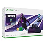 Xbox One S 1TB in violettem Farbverlauf inkl. Netzteil & HDMI-Kabel Xbox Wireless Controller in Violett Fortnite Battle Royale (digitale Vollversion) Dark Vertex Cosmetic Set (Legendary Outfit, Epic Harvesting Tool, Epic Glider) 2.000 V-Bucks (Fortni...