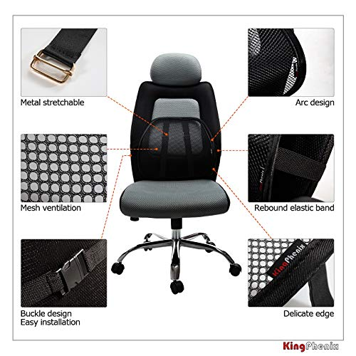 Product Image 5: Lumbar Support (2 Pack) with Breathable Mesh, Suit for Car, Office Chiar