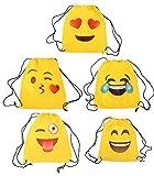 Lote de 20 Mochilas Petate Emoticonos - Mochilas, petates Infantiles, Infantil para nios y nias. Regalos, Detalles y Recuerdos Invitados de Bodas, Comuniones, Cumpleaos