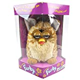 Tiger Electronics Furby Model 70-800 Electronic Talking Sleeping Animated Toys Vintage Rare Collectible 1998 (Brown)