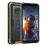 Téléphone Portable Incassable, Blackview BV4900 Smartphone Robuste Pas Cher Antichoc Étanche Débloqué 4G,32Go+3Go,5580mAh,5.7', 8MP+5MP, Double SIM,Android 10 Téléphone Mobiles,NFC/GPS