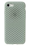 AndMesh iPhone8 iPhone7 ケース Mesh Case シンプル 放熱 軽量 耐衝撃 Qi対応 クレイグリーン 612-958387