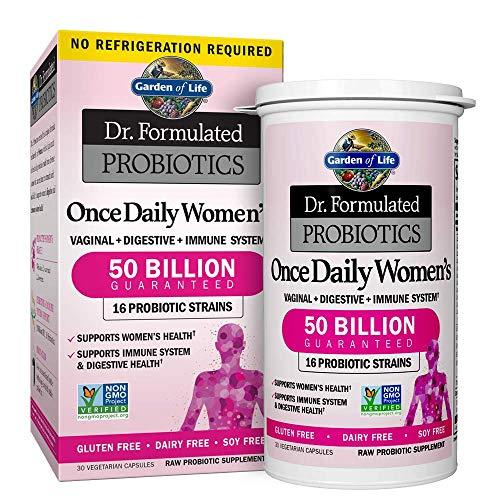 Garden of Life Probiotic Supplement Capsules for Women, Dr....