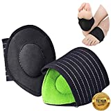 Arch Supports for Plantar Fasciitis,Cushioned Compression Support Sleeves for Plantar Fasciitis Support & Flat Foot Support - Pain Relief - Men & Women (1)