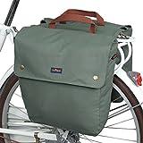TOURBON Canvas Bike Bags Rear...
