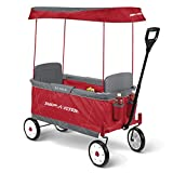 Radio Flyer Ultimate EZ Folding Wagon for kids and cargo, Red, Model Number: 3900