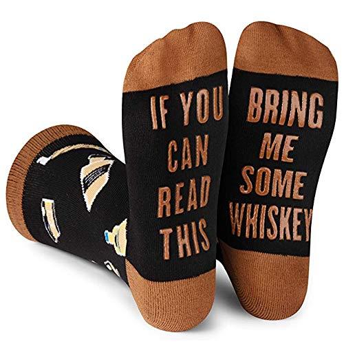 Beetop Wein Socken/Kaffee Socken, Lustige Socken Geschenk für Frauen zum Weihnachten, Valentinstag,...