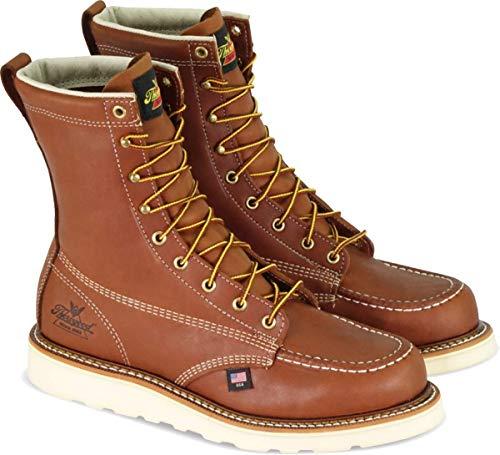 Thorogood Men's American Heritage 8' Moc Toe - Safety Toe