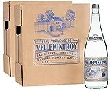Velleminfroy Eau Minérale Naturelle Plate Bouteille En Verre Vintage...