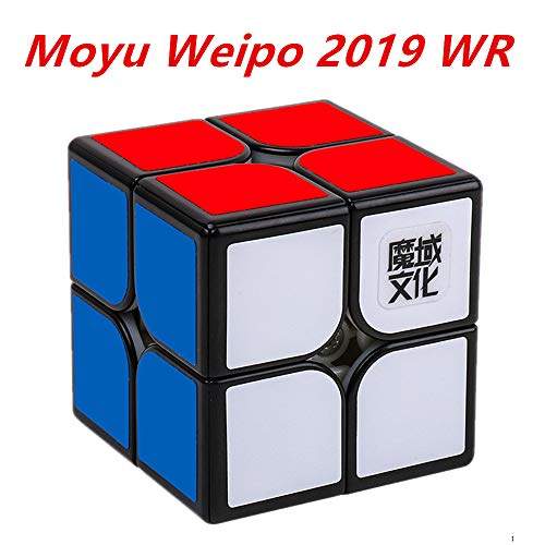 CuberSpeed Moyu Weipo wr 2019 New Version 2x2 Black Speed Cube 2x2x2 Weipo wr...