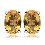 JewelryPalace 1.43ct Magnifique Boucles d'Oreilles Femme en Argent Sterling 925...