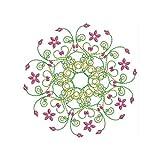 Threadart Machine Embroidery Design Bundles - Ornamental Circles - Loaded on USB Stick
