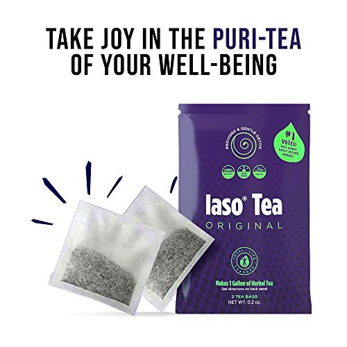 TLC Total Life Changes IASO Natural Herbal Detox Tea Bags - Single Pack (2 Tea Bags) 3 - My Weight Loss Today