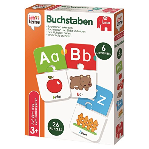 Jumbo Spiele - ich lerne Buchstaben - Lernspiel für Kinder - Ab 3 Jahren
