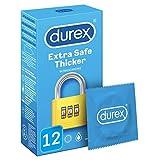 Durex Preservativos Extra Safe (Extra Seguro) - Total 12 Condones