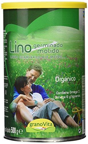 Granovita Lino Germinado Molido Bio - 500 gr