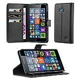 Cadorabo Coque pour Nokia Lumia 640 en Noir DE Jais - Housse Protection...