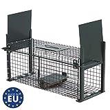 Piège de Capture infaillible - Cage - pour Petits Animaux: Lapins, Rats,...