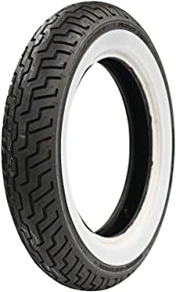 Dunlop Harley-Davidson D402 Front Motorcycle Tire MT90B-16 (72H) Wide White Wall –..