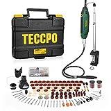 TECCPO Outil Rotatif Electrique 200W, avec 120 Accessoires, Vitesse...