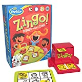 ThinkFun Zingo Bingo Award Winning Preschool Game for Pre-Readers and Early Readers Age 4 and Up - One of the Most Popular Board Games for Boys and Girls and their Parents, Amazon Exclusive Version