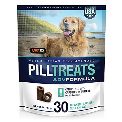 Vetiq Pill Treats, 30 Soft Chews For Dogs, Chicken...