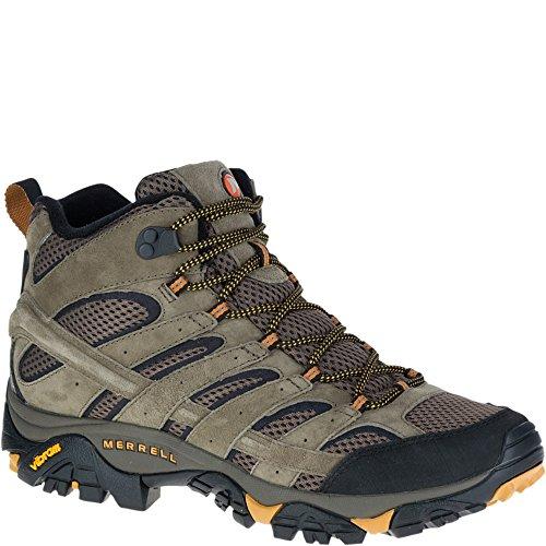 Merrell Men's Moab 2 Vent Mid Hiking Boot, Walnut, 11 M US