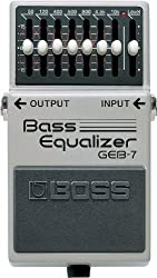 BOSS Seven-Band Graphic EQ Pedal for Bass guitar Review