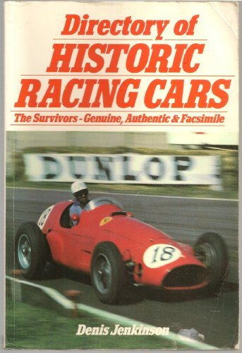 Directory of Historic Racing Cars
