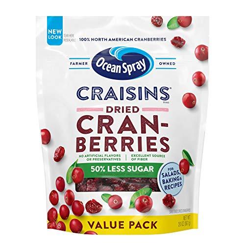 Reduced Sugar Dried Cranberries