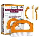 Brosse de nettoyage pour joint/carrelage - anti-moisissure/sans produits chimiques -...