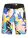Quiksilver Highline Tijuana 19'-Boardshort pour Homme, Snow White, FR : L (Taille Fabricant : 34)