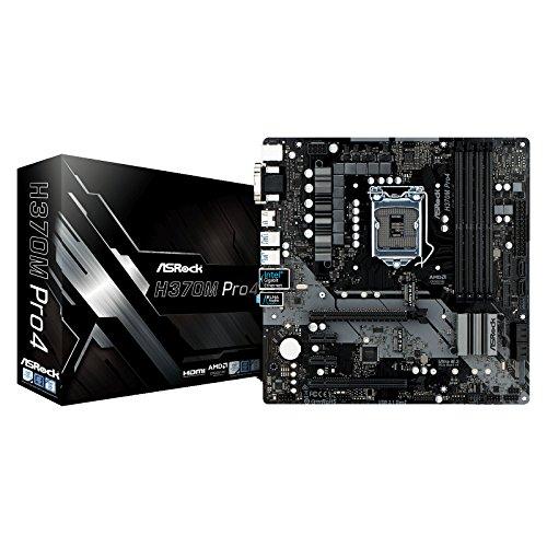 ASRock Intel H370チップセット搭載 Micro ATXマザーボード H370M Pro4