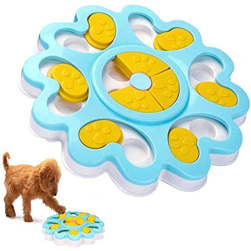 Juguete de puzle para perro, dispensador de premios interactivo,...