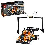 LEGO Technic Camion da Gara con Tecnologia Pullback e la Possibilità di Costruzione due Modelli Differenti, Set di Costruzioni +7 Anni, 42104