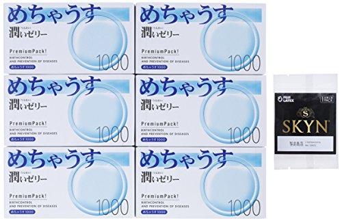 めちゃうす 1000 1箱12コ入×6パック 【SKYN お試しサンプル付】