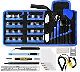 Kaisi 139 in 1 Electronics Repair Tool Kit Professional Precision Screwdriver Set Magnetic Drive Kit with Portable Bag for Repair PC Computer, Laptop, Tablet, iPad, iPhone, Xbox, Game Console and more