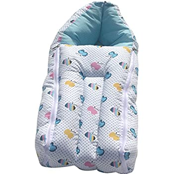 Buy Amardeep And Co Baby Sleeping Bag Cum Baby Carry Bag Blue Online At Low Prices In India Amazon In