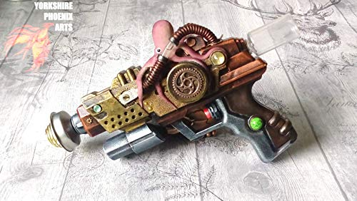Steampunk ray gun octopus style cosplay Victorian costume accessory