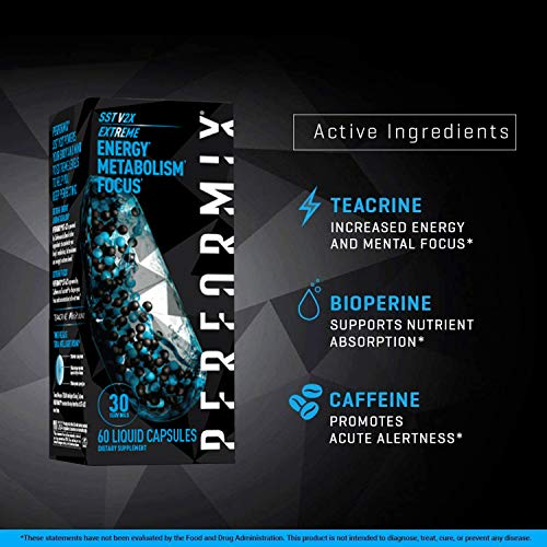 Performix SST Extreme v2X Thermogenic Fat Burner, Weight Loss Supplement, Metabolism & Energy Booster, Mental Focus, 60 Count 4