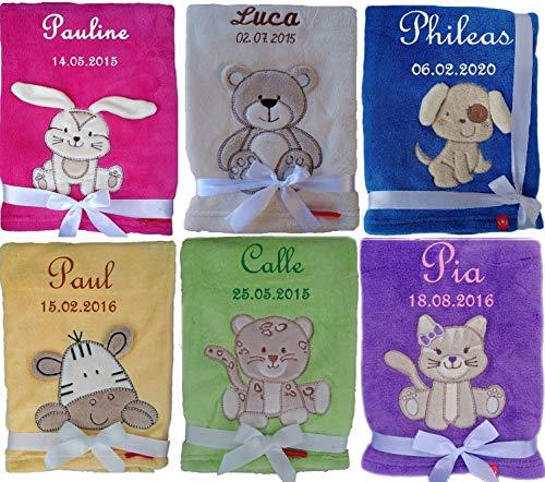 Coperte per neonati personalizzate