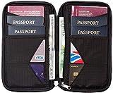 Organisateur de Voyage et Porte Passeport Familial avec Blindage RFID - Étui Organisateur de...