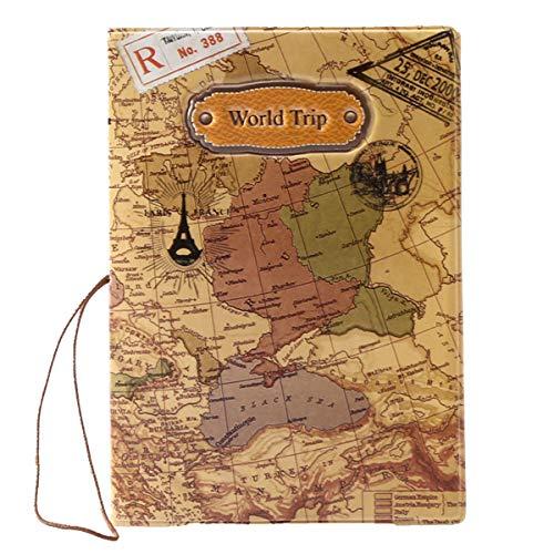 BAIGIO Sac de protection de passeport et cartes d'identité Sac de voyage...