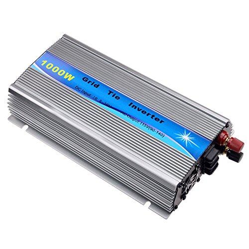 Y&H 1000W グリッドタイインバーター MPPT 純正弦波 インバーター DC20-45V入力AC90-140V出力【24V/30V/36Vソーラーパネル対応】