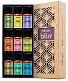 Natrogix Bliss Essential Oils - Top 9 Therapeutic Grade 100% Pure...