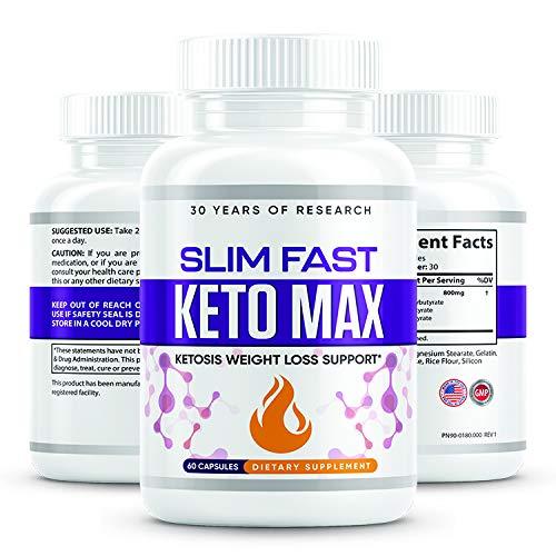 Slim Fast Keto Max - Ketosis Weight Loss Support 2