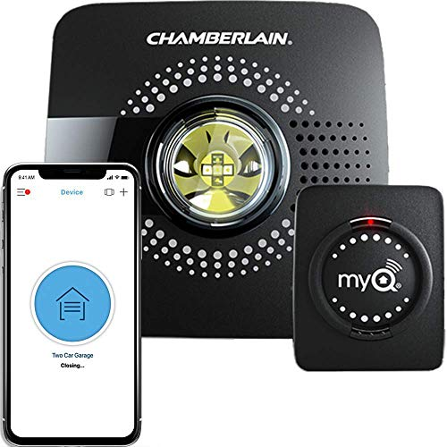 MyQ Smart Garage Door Opener Chamberlain MYQ-G0301 - Wireless & Wi-Fi enabled Garage Hub with Smartphone Control, 1...