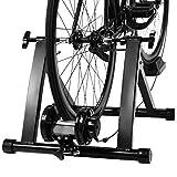 Costway Home Trainer Vélo Magnétique 5 Vitesses Réglables pour Roue...