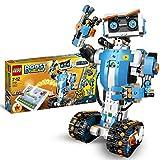 LEGO BOOST Toolbox Creativa, Kit di Robotica per Ragazzi, Modello da Costruire 5 in 1 Controllato via App con Robot Giocattolo Interattivo Programmabile e Hub Bluetooth, Set di Codifica, 17101